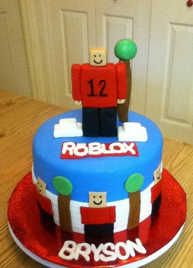 Rōblox 12th Birthday Cake Roblox Robloxbirthdaycake Roblox