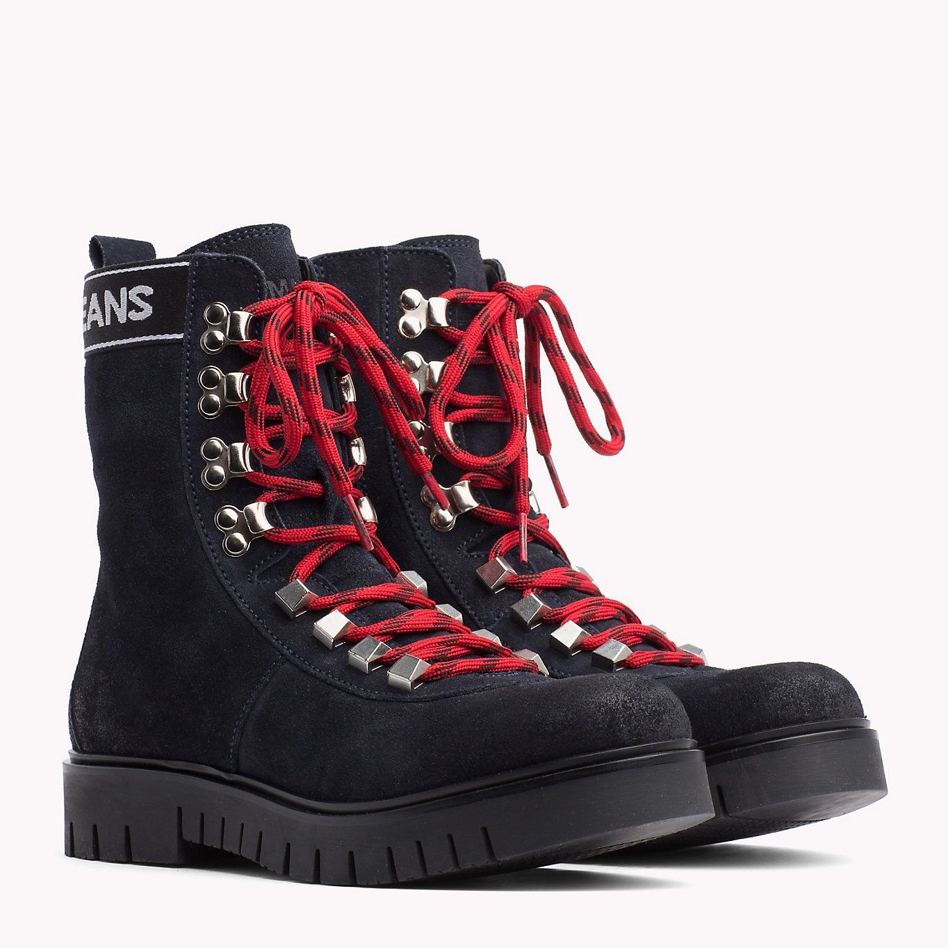 TOMMY JEANS Tommy Jeans Lace-Up Hiking