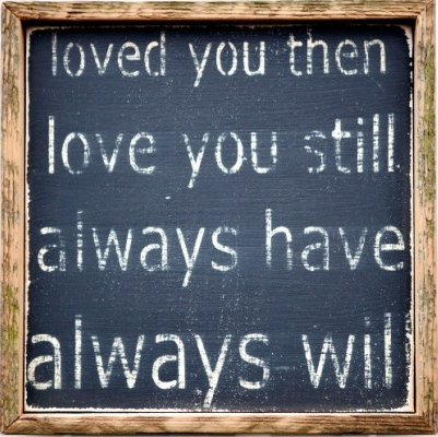Loved You Then Wall Art