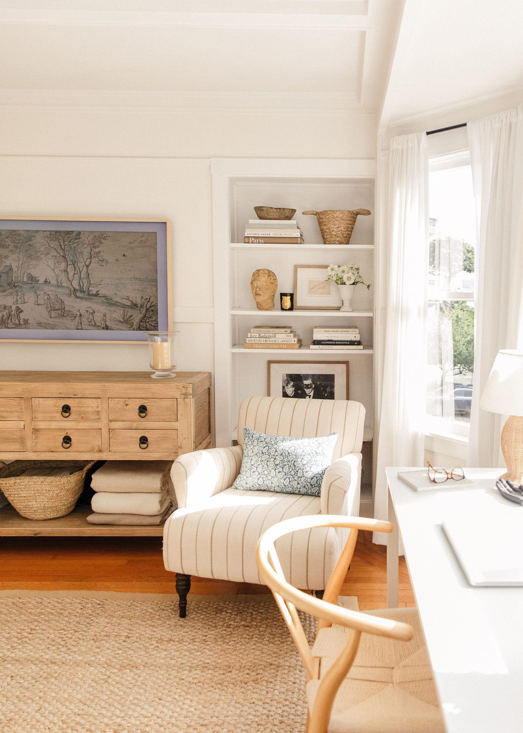 Detailing Our Samsung Art Tv Harlowe James Home Decor Contemporary Home Decor Affordable Home Decor Stores