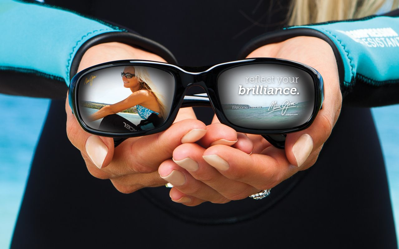 Wear Maui Jim and reflect your brilliance. More fun from Maui Jim coming soon.