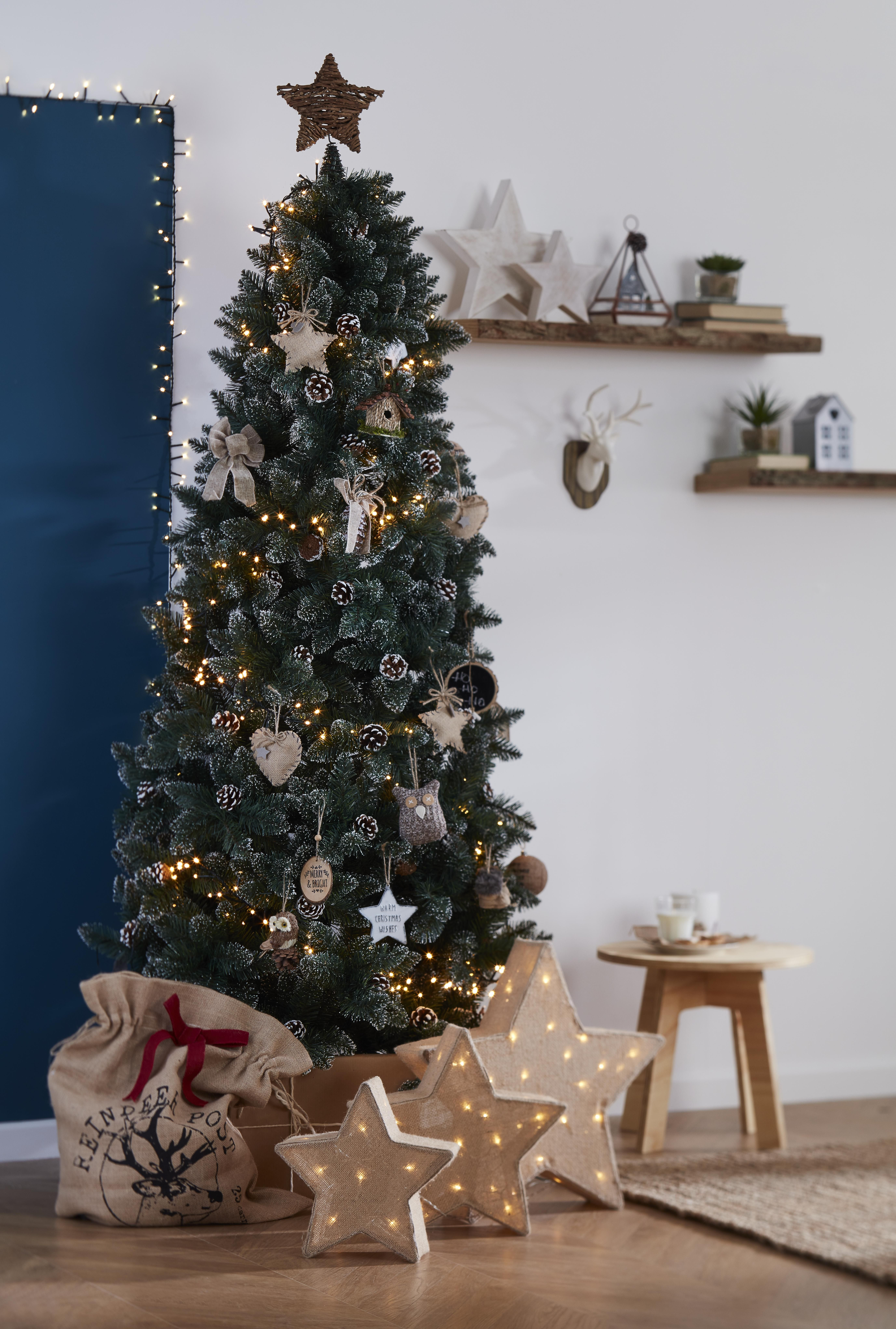 It S Not Just About Your Christmas Tree Make Sure You Dress Your Shelves And Tables With Decorations To Holiday Christmas Tree Scandi Christmas Christmas Tree
