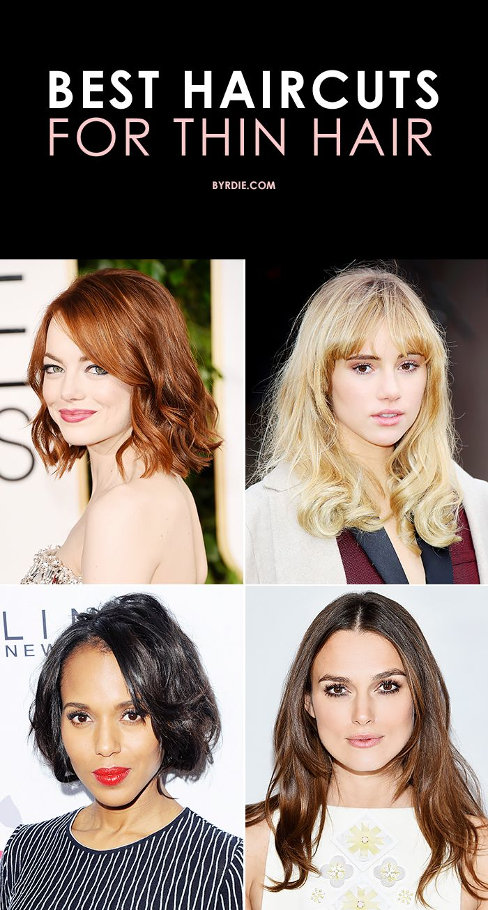 11 Hairstyles for Thin Hair That Give Major Volume  Hairstyles for