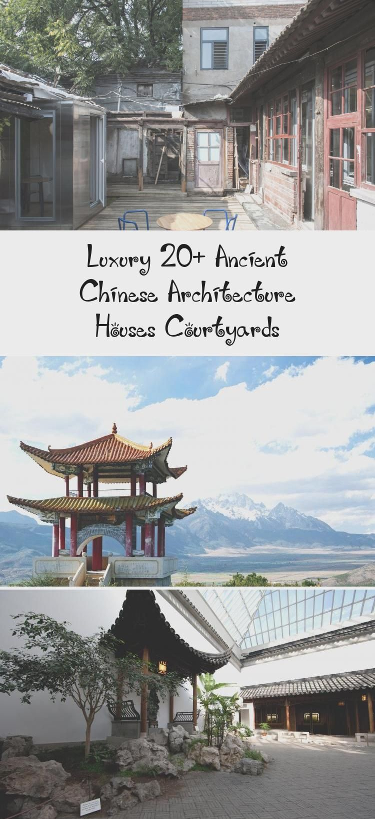 Luxury 20 Ancient Chinese Architecture Houses Courtyards In 2020 Ancient Chinese Architecture China Architecture Chinese Architecture
