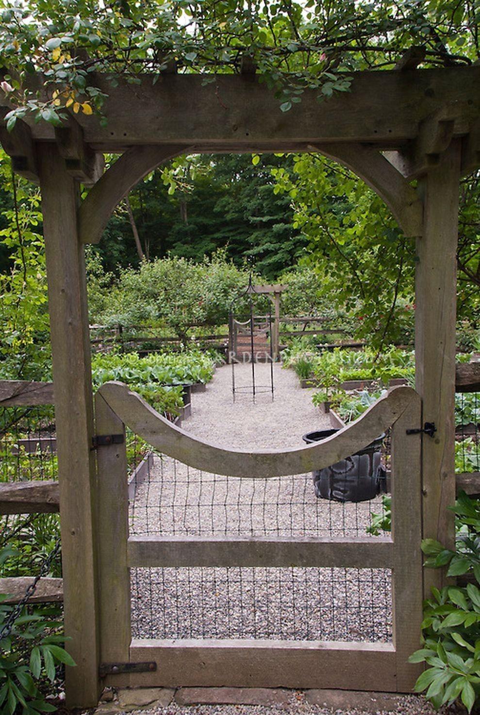 55 Best Backyard Vegetable Garden Designs Ideas Garden Gates And Fencing Garden Gate Design Vegetable Garden Design