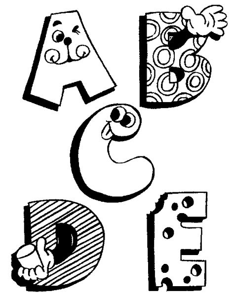 Funny Alphabet Coloring Pages Abc Coloring Pages Alphabet Coloring Pages Abc Coloring Pages Lettering Alphabet