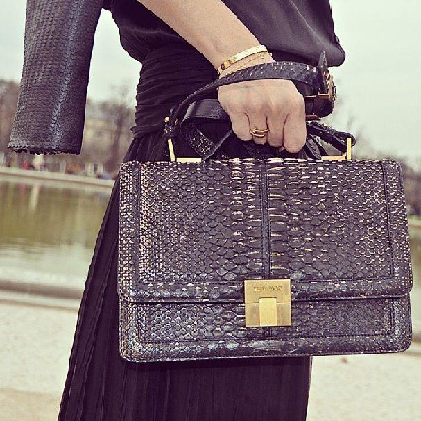 Elie Saab Python Bag
