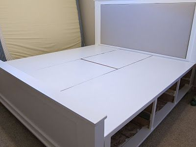 Diy King Size Bed Frame Part 4 Headboard And Finished Product
