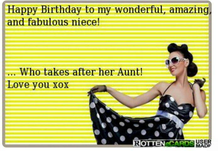 Niece Birthday Birthday Humor Happy Birthday Niece Niece Birthday