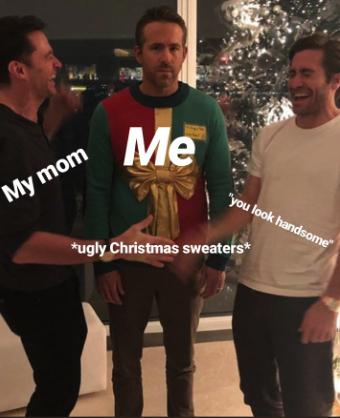 Ryan Reynolds' hilarious Christmas photo with Jake