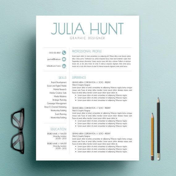 teacher template word cv template and cover letter