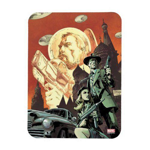 Agent Carter With Howard Stark Magnet   marvel heroes, comics marvel, marvel villains #marvelcinematicuniverse #marvelnerd #marvelrp, 4th of july party
