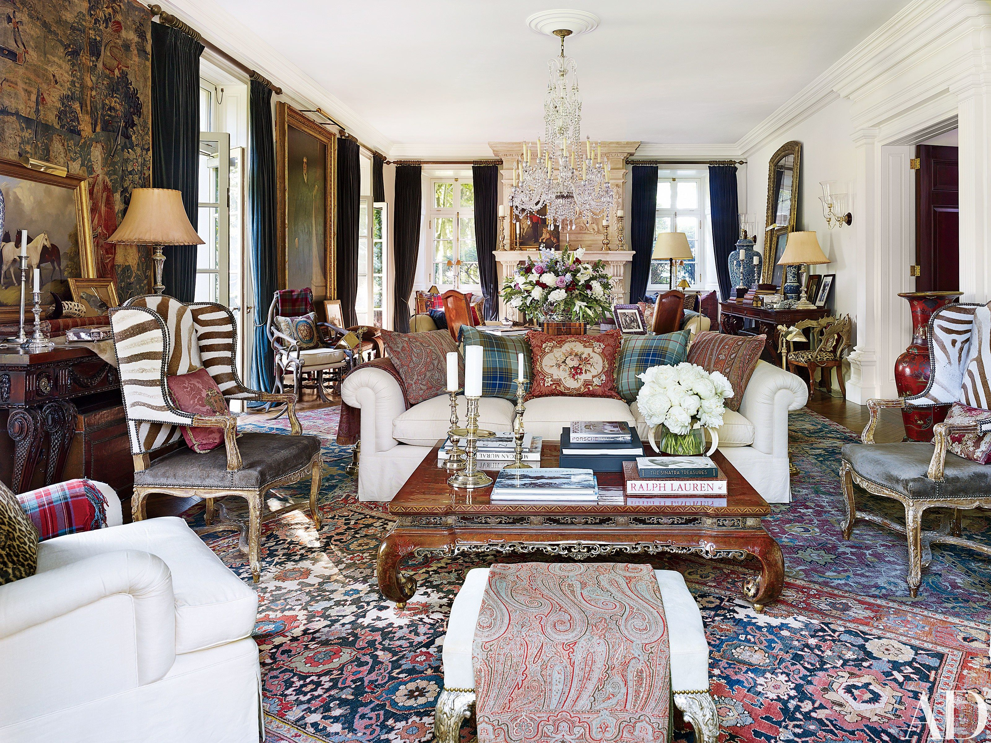 ralph lauren home office accents. Ralph Lauren\u0027s Refined Homes And Chic Madison Avenue Office Photos | Architectural Digest Lauren Home Accents E