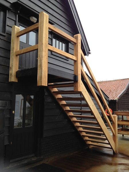 Best External Stair Leads Directly To Second Level Bedroom S 400 x 300