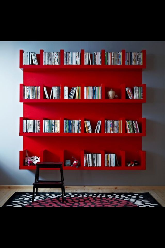 Marvelous Splendid CD/game Storage Idea. From Ikea