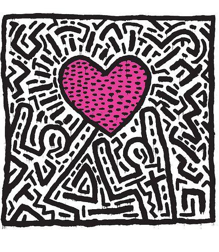 Citaten Hedendaagse Kunstenaars : The king of doodling keith haring doolhof hart kunst
