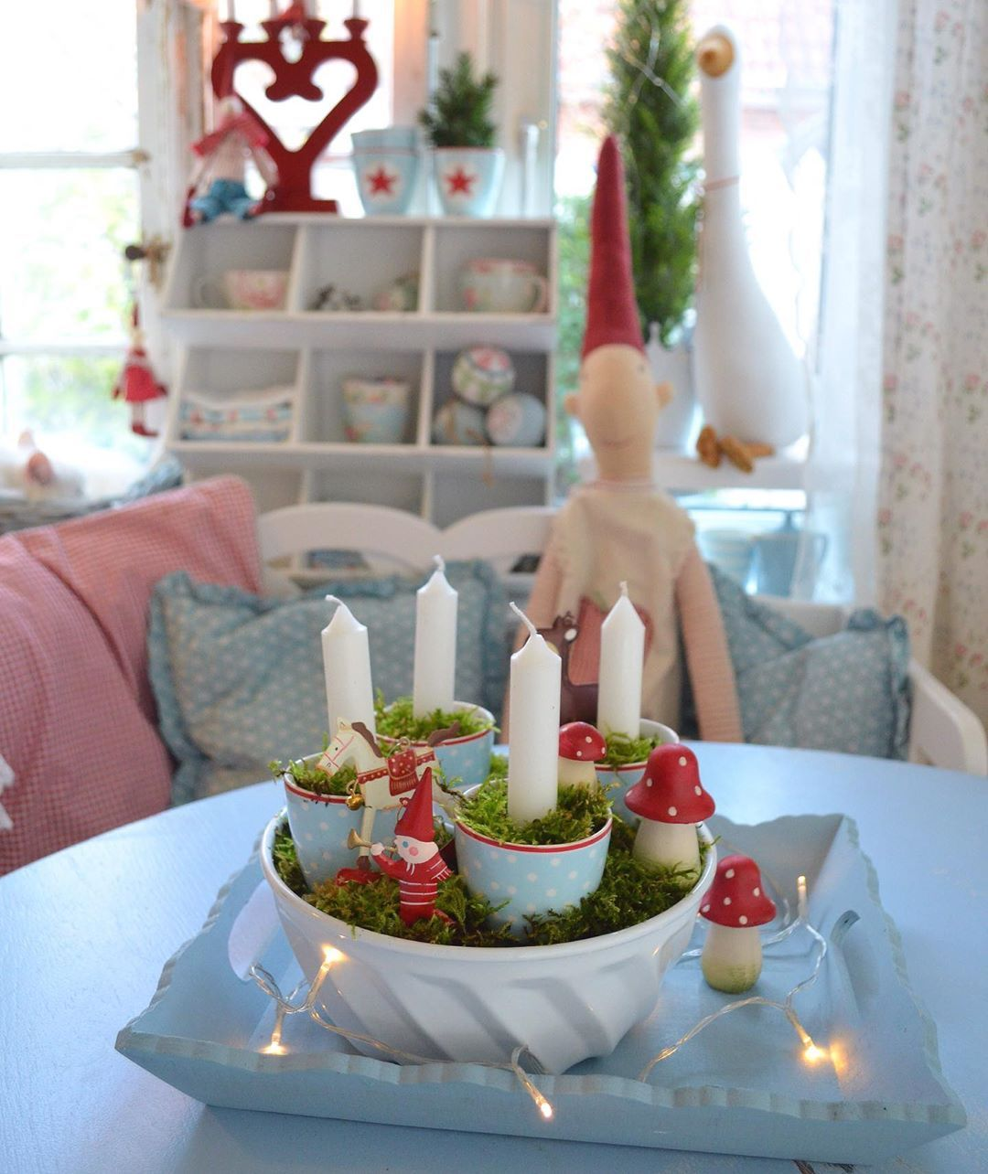 """??Anke?? on Instagram: """"Werbung/ Juchhuuuu…Guten Morgen ??❤️ Soohooo….das Haus ist schon mal weihnachtlich rausgeputzt….und ist bereit für den 1. Advent ???…"""""""