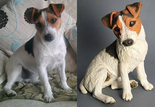 Ceramics By Joanne Cooke At Studiopottery Co Uk 2013 Peggy Commission Pottery Animals Dog Pottery Dog Sculpture
