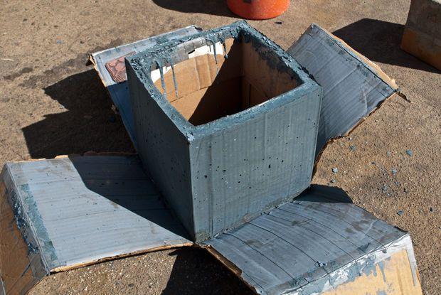 Diy Concrete Planter Box Diy Concrete Planters Concrete Planters Concrete Planter Boxes
