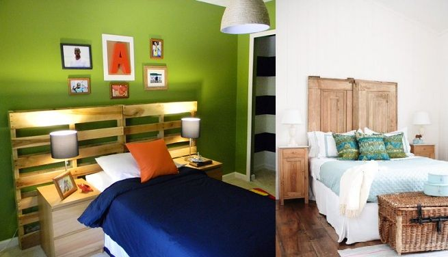 Ideas para hacer cabeceros de cama baratos | creativa!! | Pinterest ...