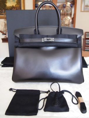 a89c67bc0e Authentic Brand New Hermes 'so Black' Birkin 35cm Box Leather | All ...