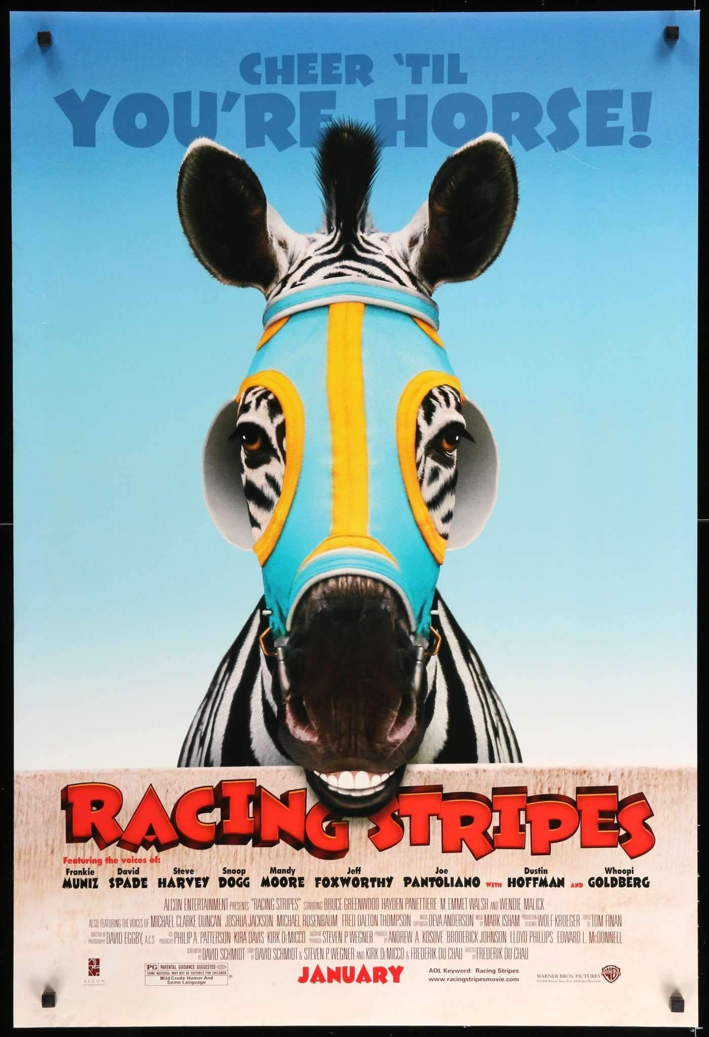 Racing Stripes 2005 Horse Movies Racing Stripes Movie Posters
