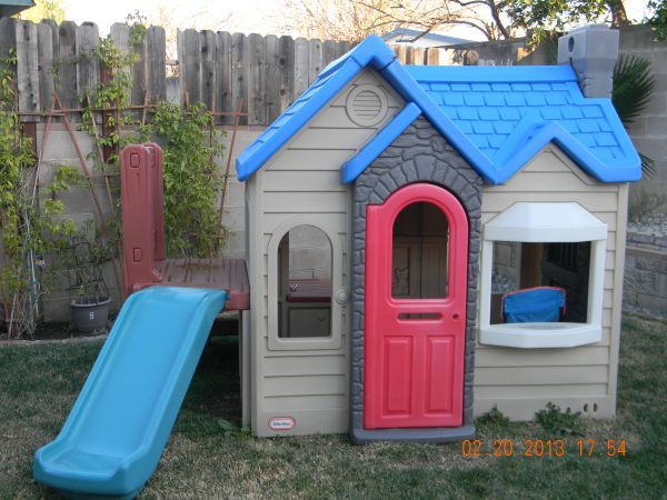 Little Tikes Playhouse With Slide And Kitchen 200 Simi Valley Baby Kids In Ventura Clifieds Listorn