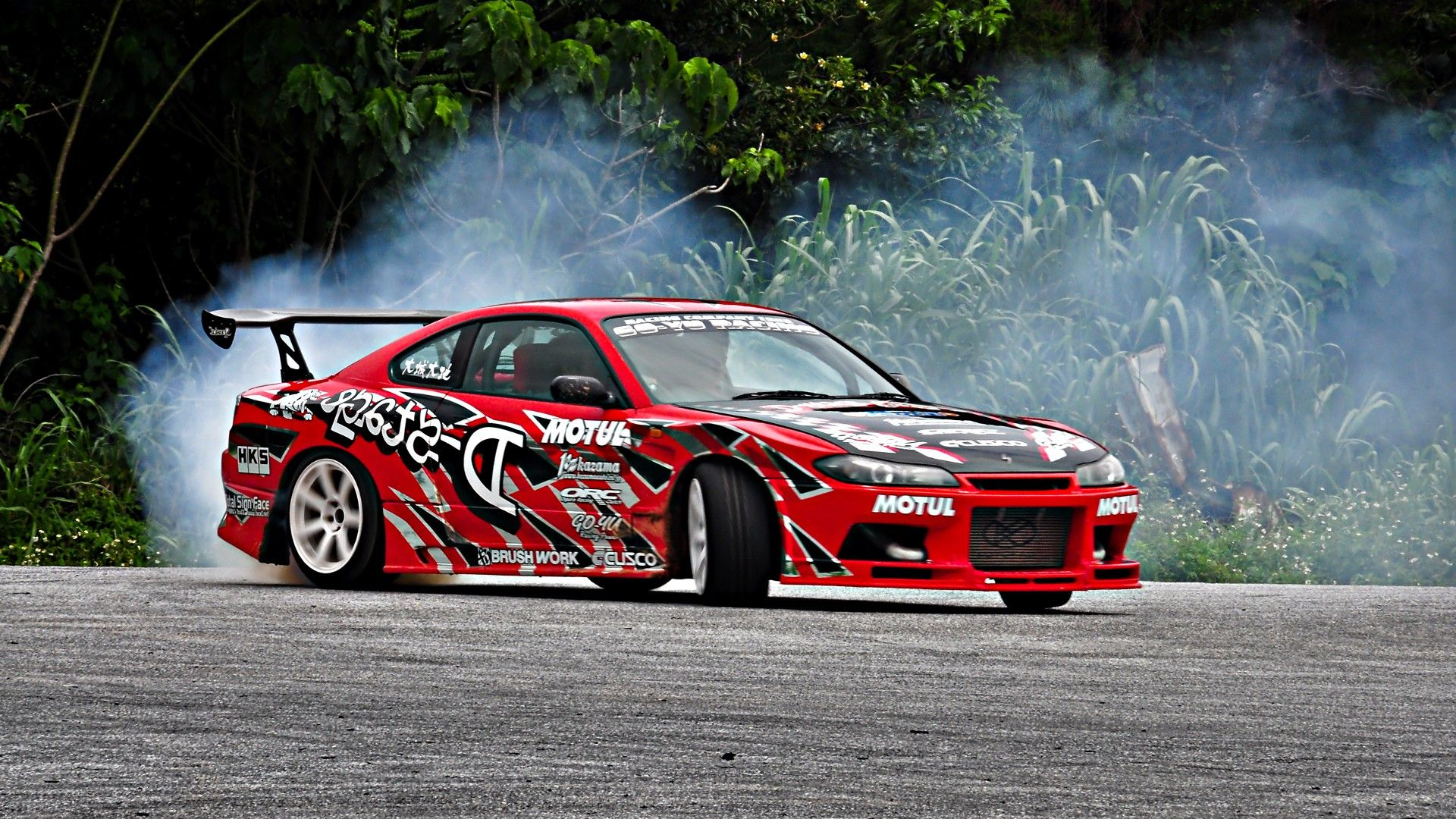 Drifting Cars Nissan Silvia Nissan Smoking Tires Pinterest
