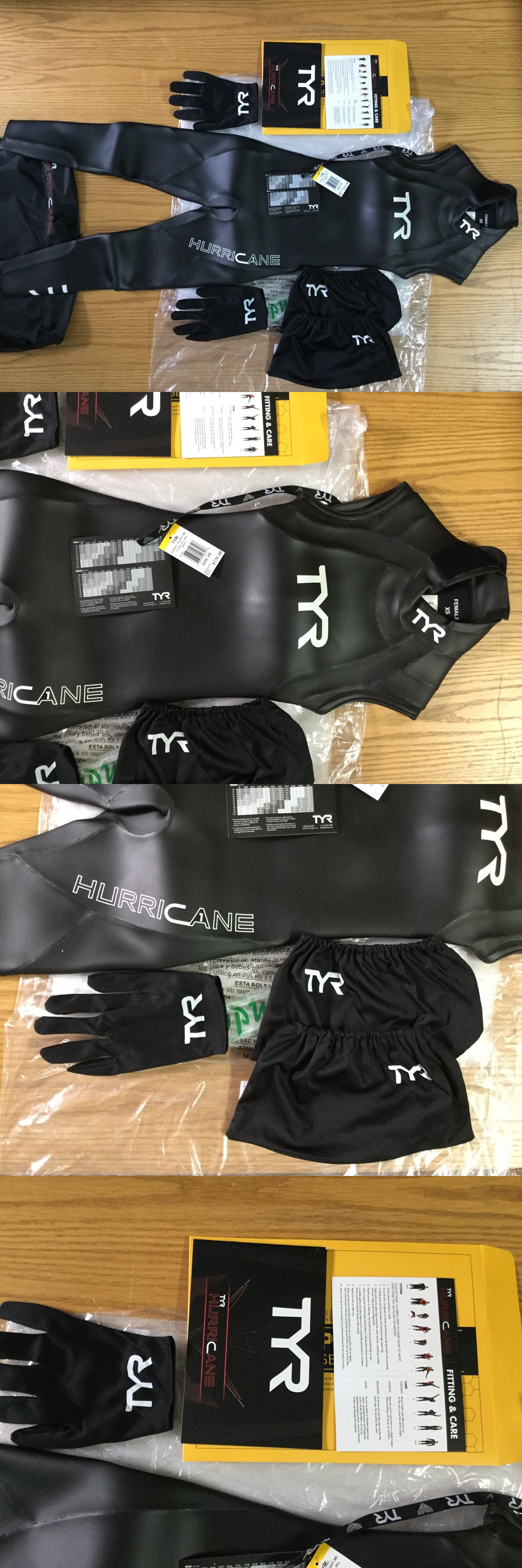 9c4f5b74b4247 Women 47356  Tyr Sport Women Hurricane Sleeveless Wetsuit Category 1 Size  X-Small New