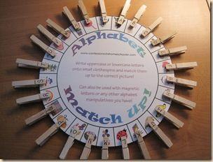 ABC Matching Wheel