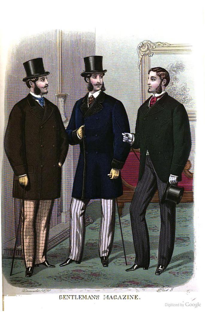 gentlemen�s magazine of fashion may 1870 1870s fashion