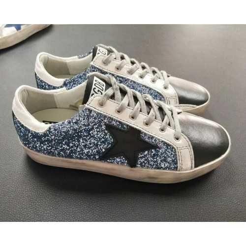 Sneaker Oie D'or Superstar Noir Et Argent QaVYsmy