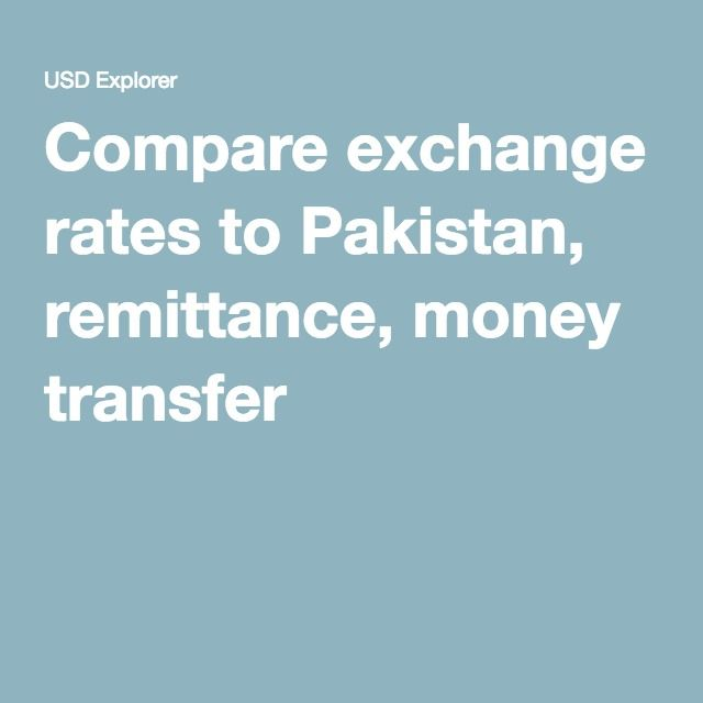 Compare Exchange Rates To Stan Remittance Money Transfer