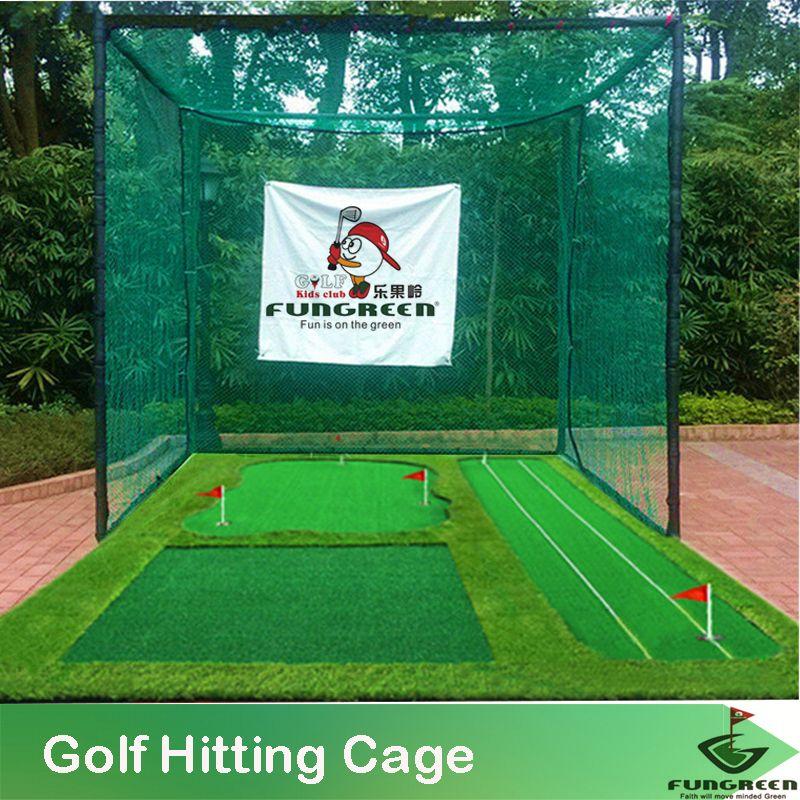 Interieur Et Exterieur De Golf Frapper Cages Golf Putting Green