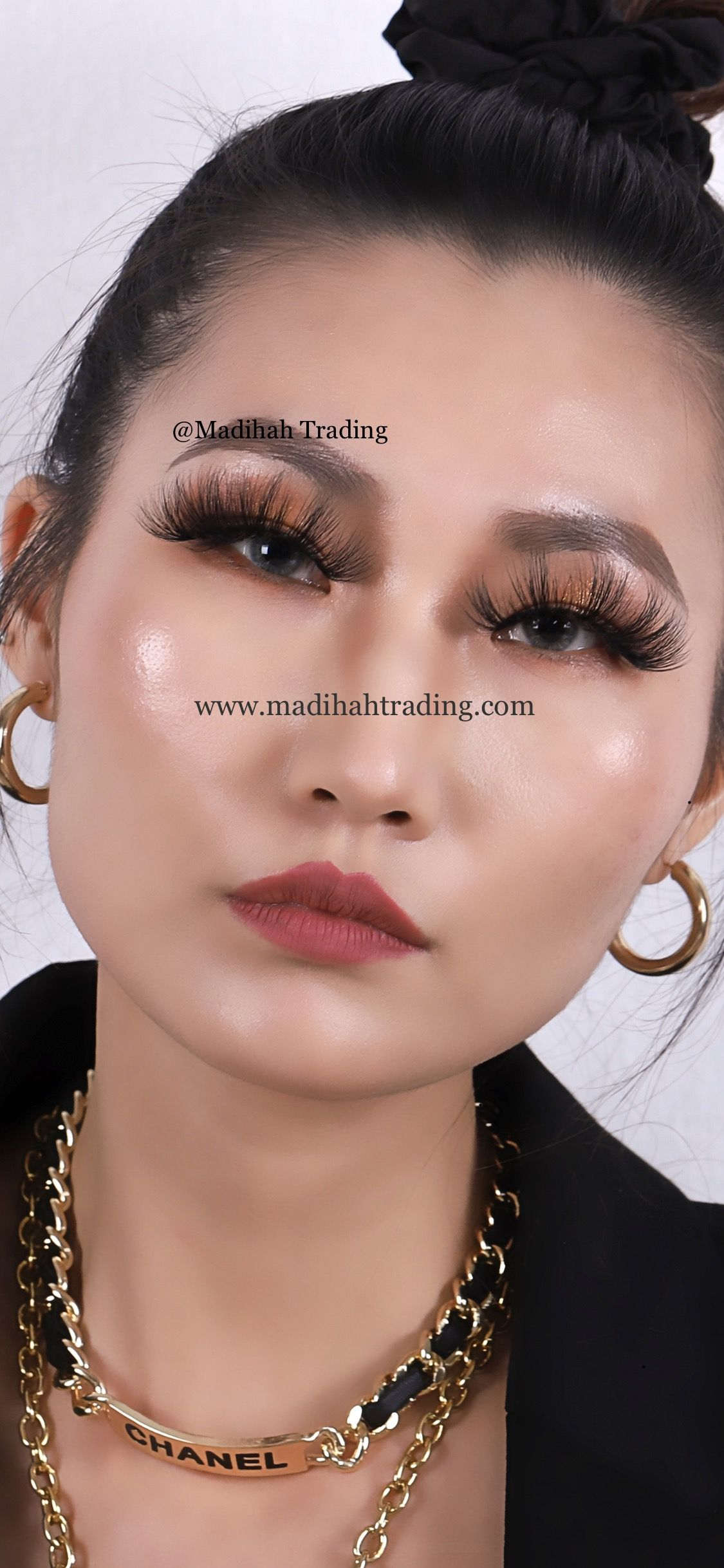 real mink lashes wholesale and mink lashes try on by