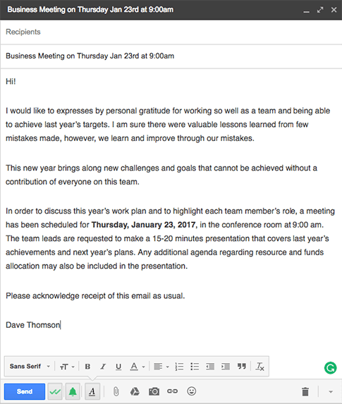 Examples of a Good Invitation Letter for an Important