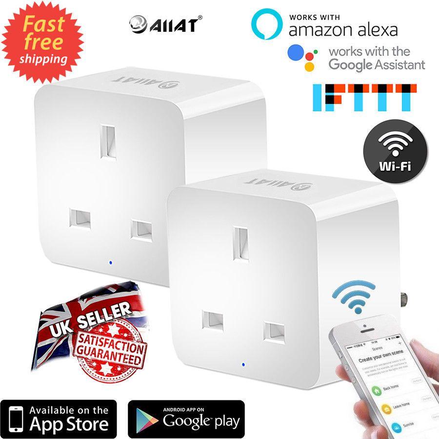 Details about AIIAT Intelligent Wifi Smart Timer UK Plug