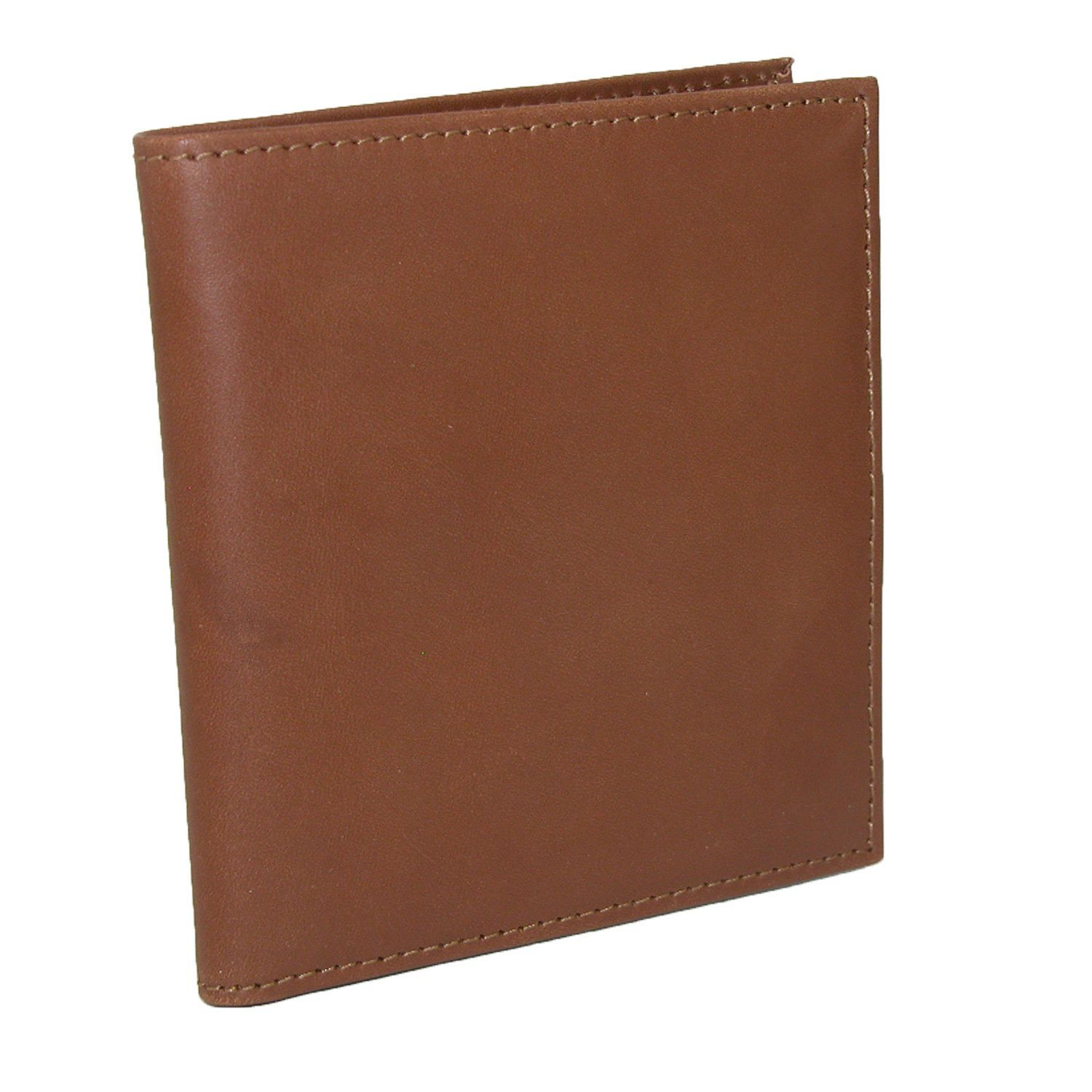 Scully Mens Leather Hipster Wallet with ID Window
