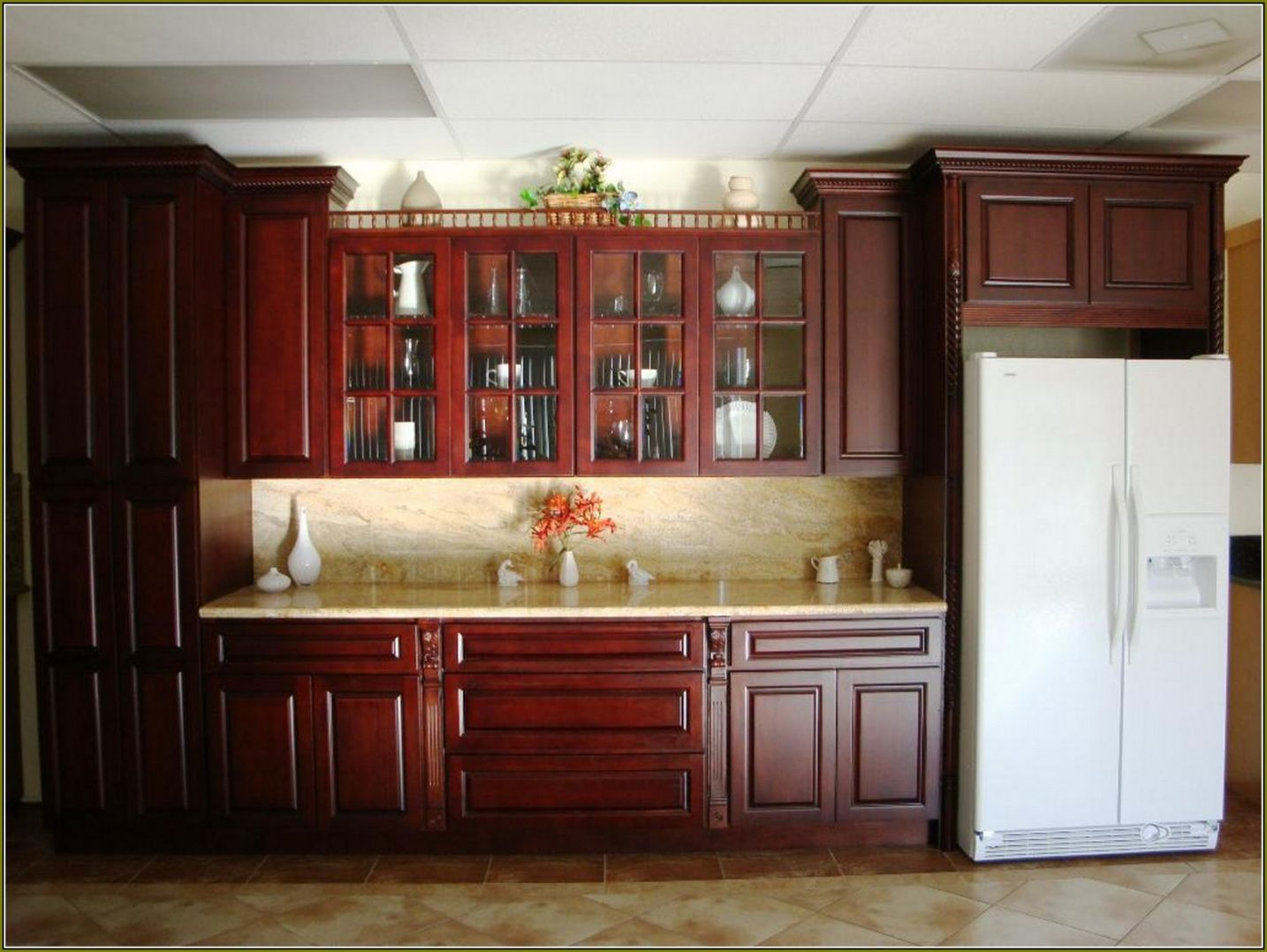2019 Kitchen Cabinets Lowes Showroom - Rustic Kitchen Shelving Ideas ...
