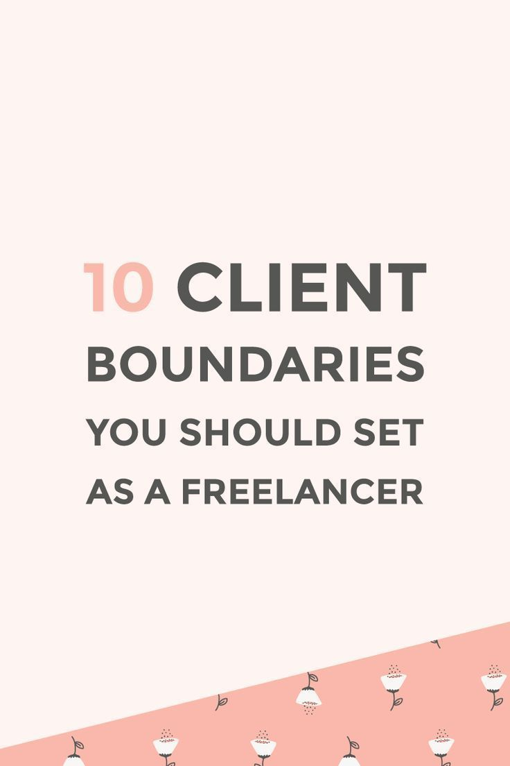 Client boundaries you should set as a freelancer is part of Business advice, Small business tips, Difficult clients, Business mentor, Business boost, Entrepreneur advice - 10 client boundaries you should set up as a freelancer to improve communication with your clients and avoid any awkward situations