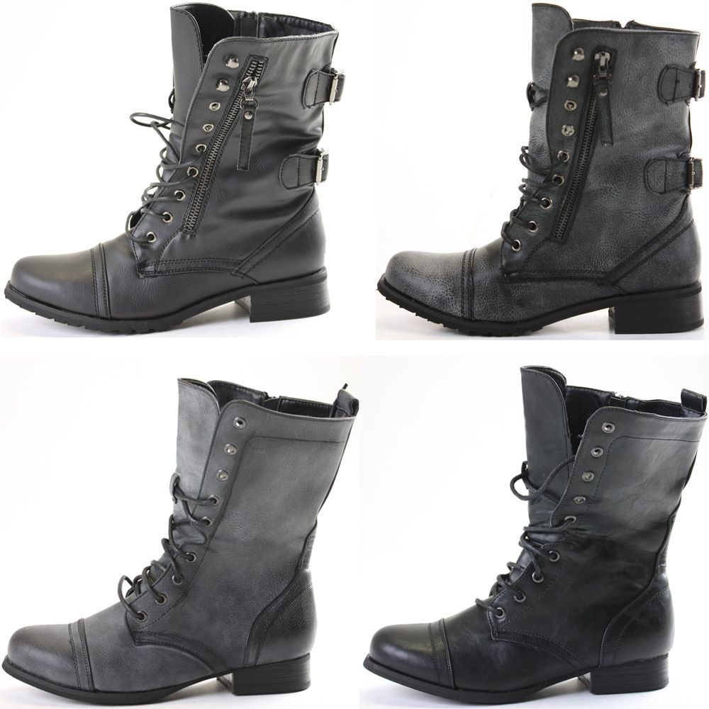 girls black lace up ankle boots | Gommap Blog