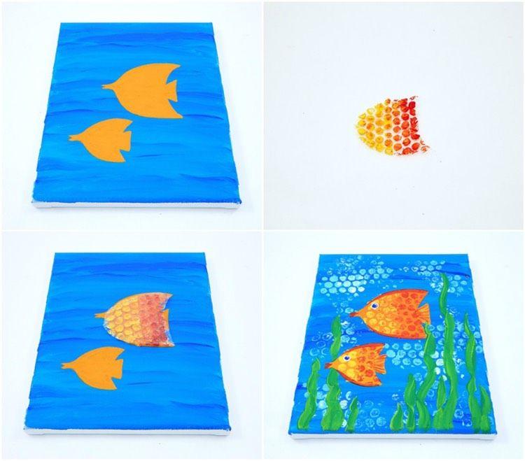 Kreative Zeichentechniken zum Malen mit Kindern - 28