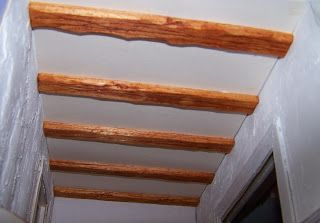 how to: rustic beams