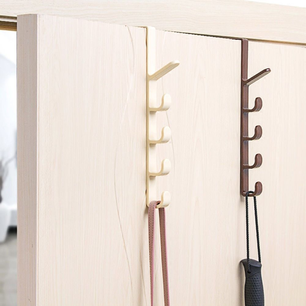 New Over The Door Hanger Hook Clothes Storage Holder Multipurpose Hanging Rack Over The Door Hanger Home Storage Organization Hanging Racks