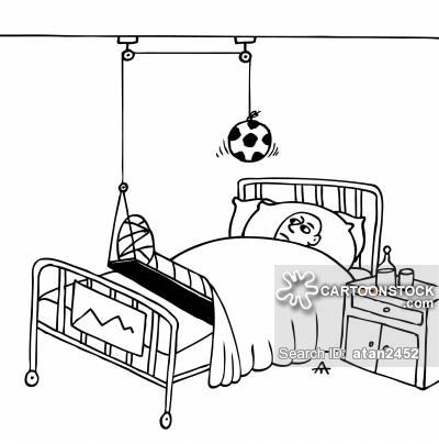 Football Injuries Cartoons And Comics Football Injuries Soccer Funny Football