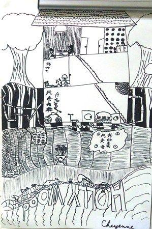 """""""Line-Underground Scene""""  by Cheyenne"""