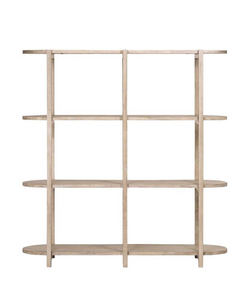 Aldwin Bookshelf Light Natural Bookshelves Shelves Bookcase Shelves