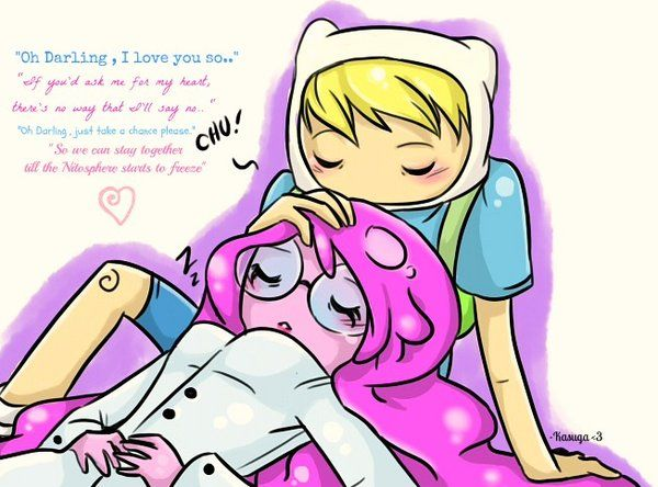 Pb And Finn Oh Darling I Love You So By Kasugaxoxo In 2020 Adventure Time Cartoon Finn And Princess Bubblegum Adventure Time Wallpaper