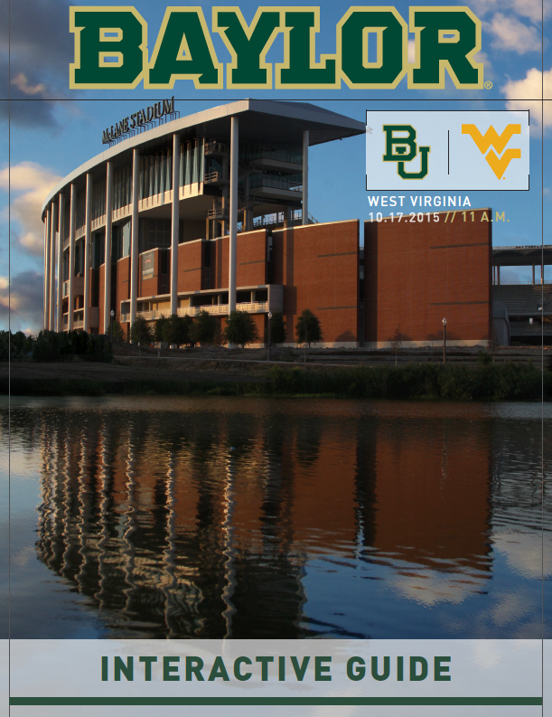 Baylor Bears, get ready to SicWVU with this week's