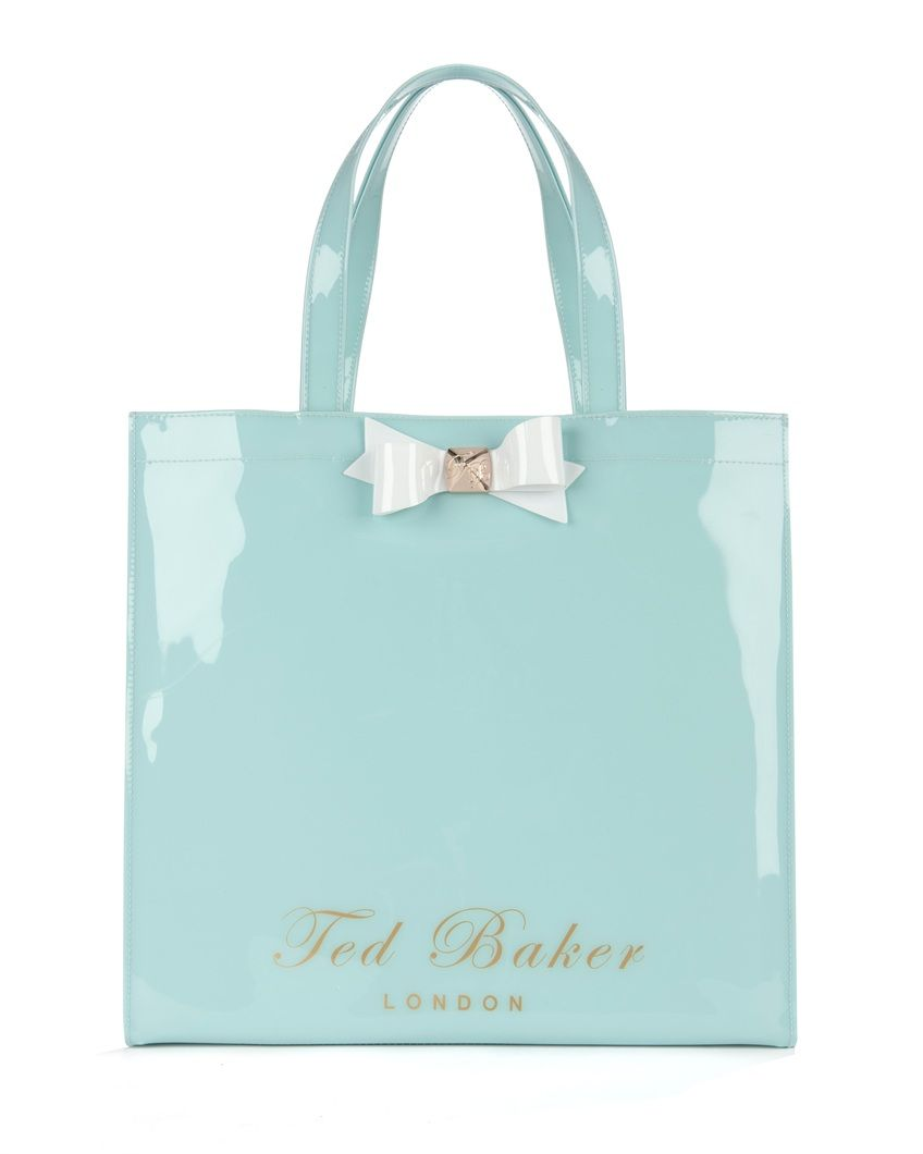 44fcd1627a39 Bow shopper bag - BIGCON by Ted Baker In Tiffany blue!~